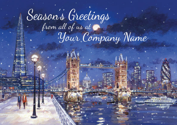 Personalised Charity Christmas Card