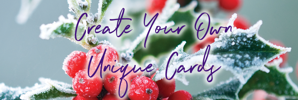 Create your own photo Christmas cards