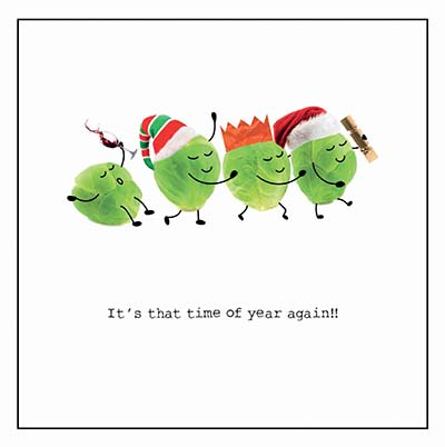 Sprout Congo Personalised Charity Christmas Card