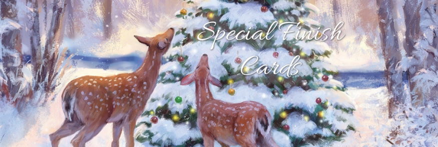Special Finish Cards