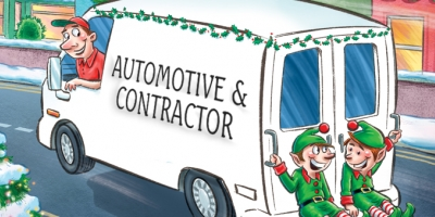 Automotive and Contractor Christmas Cards