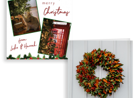 Create your own personalised Christmas card