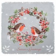 Robins Red Breast Card